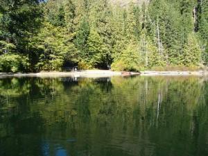 Schoen Lake Provincial Park Boat Launch