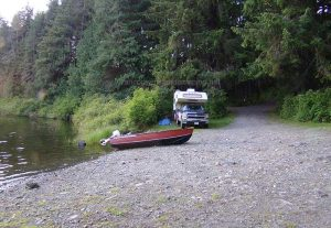 boat launch at kathleen lake brought to you by vancouver island camping